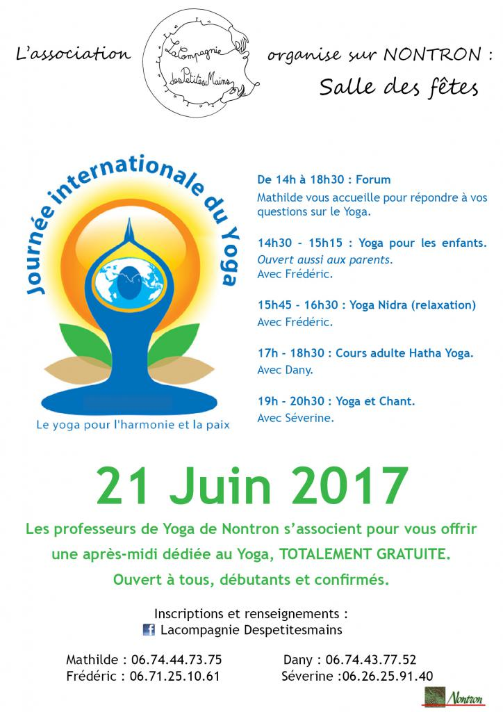 journée internationale du yoga nontron